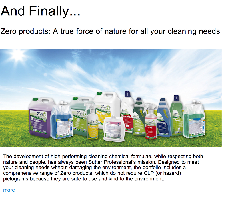 Advert: https://www.thecleanzine.com/pages/19394/zero_products_a_true_force_of_nature_for_all_your_cleaning_needs/