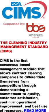 Advert: http://www.thecleanzine.com/pages/10233/the_cleaning_industry_management_standard_cims/