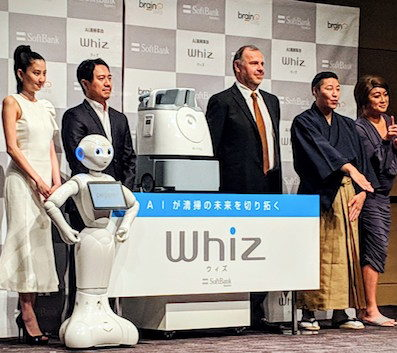 BrainOS featured in new commercial cleaning robot, initially