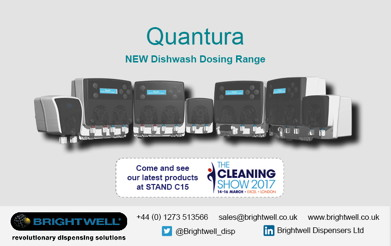 Advert: http://www.brightwell.co.uk/news/visit-us-at-the-cleaning-show