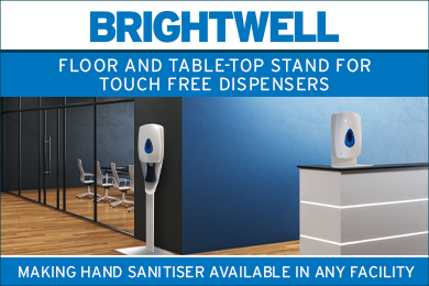 Advert: https://www.brightwell.co.uk/news/new-touch-free-dispenser