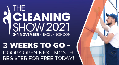 Advert: https://cleaningshow.co.uk/london/register-now?utm_source=Newsletter+&utm_medium=Banner+&utm_campaign=Cleaning+Show&utm_content=Countdown+ads+