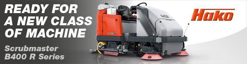 Advert: https://www.hako.com/en/cleaning-technology/scrubber-driers/ride-on-scrubber-driers/scrubmaster-b400-r-series