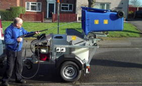 Wheelie Bin Cleaning >> Morclean Launches Machine Range For Cleaning Wheelie Bins