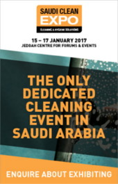 Advert: mailto:sales@thecleanzine.com?subject=SAUDICLEAN&body=Please email further information about how to exhibit at SAUDICLEAN.