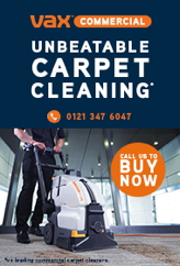 Advert: http://www.vaxcommercial.co.uk/machines/commercial-carpet-washers/vcw-06