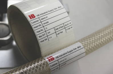 New CILS-81000TK self-laminating computer printable labels
