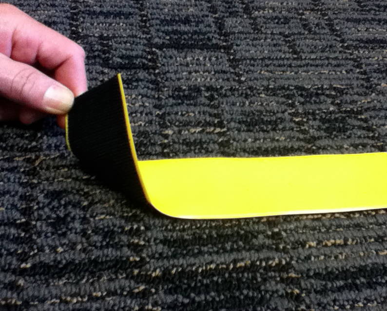 Stop Painting Com Introduces Velcro Backed Floor Markings